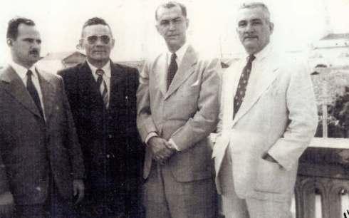 Visita de JK 8-1-1954